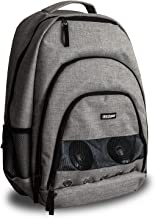 Deco Gear Bluetooth Speaker Backpack with Rechargeable 10,000 mAh Power Bank | Wireless Streaming | Insulated Compartment | Great for Festivals/Parties/School/Outdoors | Android or iPhone iOS