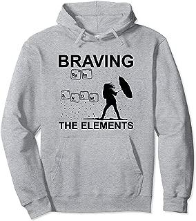 Funny Weather Geek Meteorologist Gift Idea Pullover Hoodie