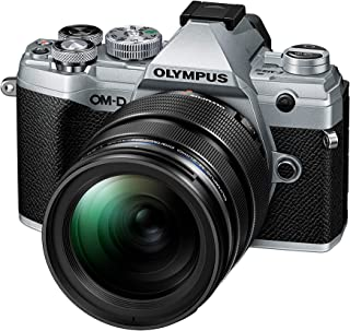 Olympus OM-D E-M5 Mark III Micro Four Thirds System Camera Kit sensor de 20 MP estabilizador de imagen de 5 ejes potente autofoco vídeo de 4K WLAN plateado incl. lente M.Zuiko PRO de 12-40mm