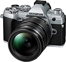 Olympus OM-D E-M5 Mark III Kit, Cámara de Sistema Micro 4/3 (20 MP, Estabilizador de Imagen de 5 Ejes, Potente Autofoco, 4K Vídeo, WLAN), plateado + Objetivo M.Zuiko PRO de 12-40mm
