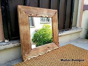 Wall mirror/ wood mirror/ decorative mirror/ mirrors/ rustic mirror