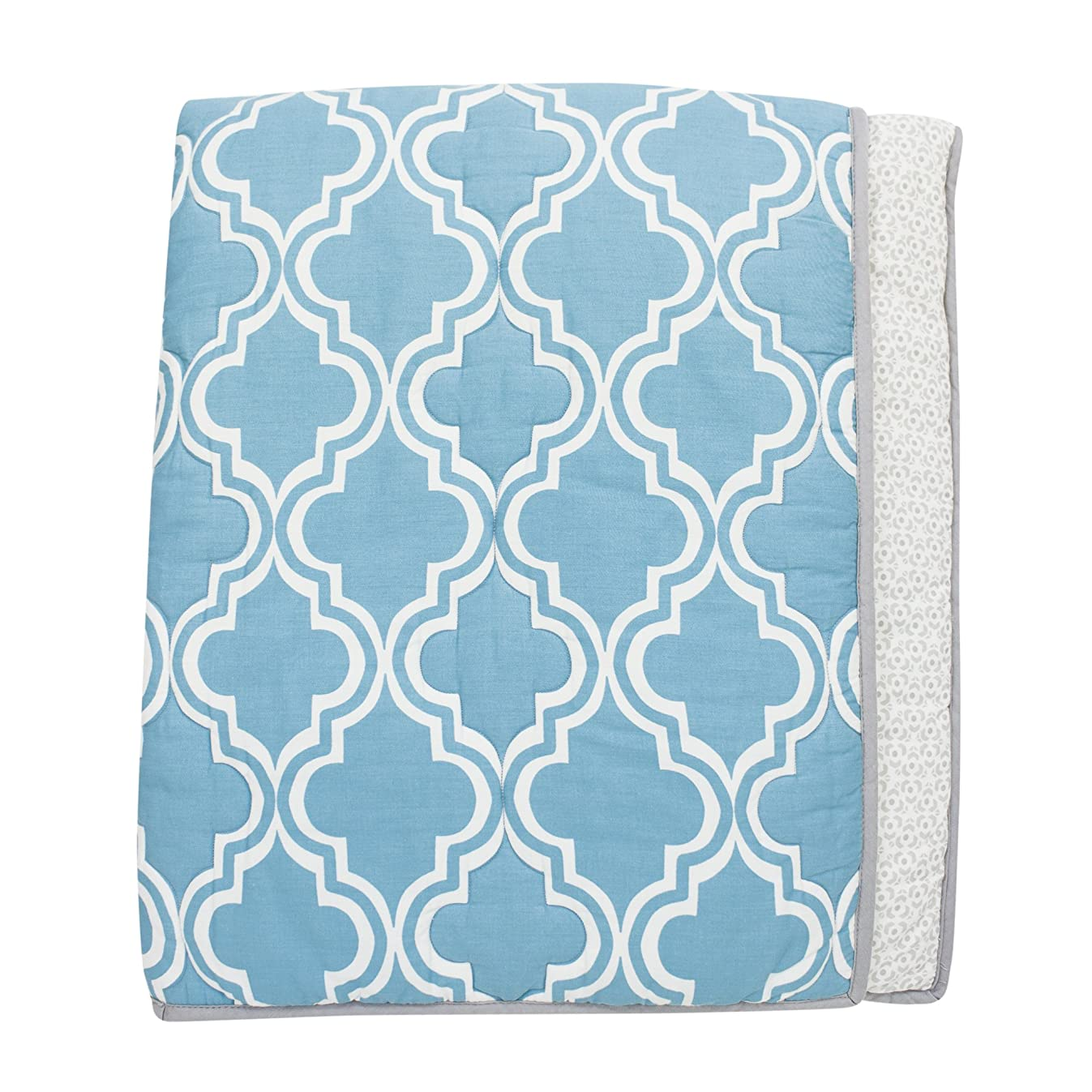 Lambs & Ivy Ryan Collection Reversible Coverlet