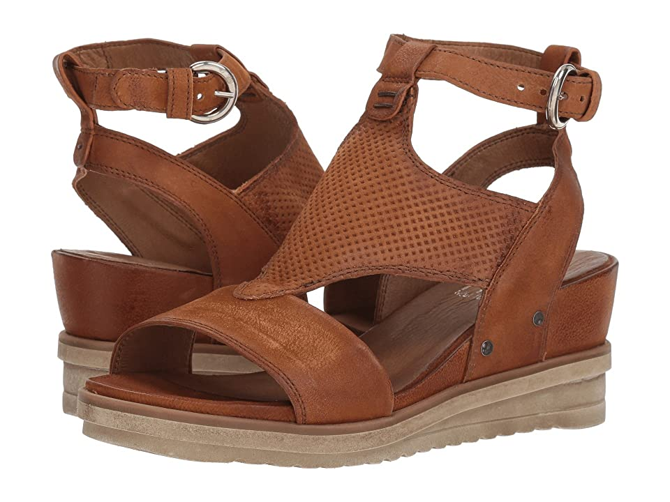 Miz Mooz Maura (Whiskey) Women's Sandals, Brown