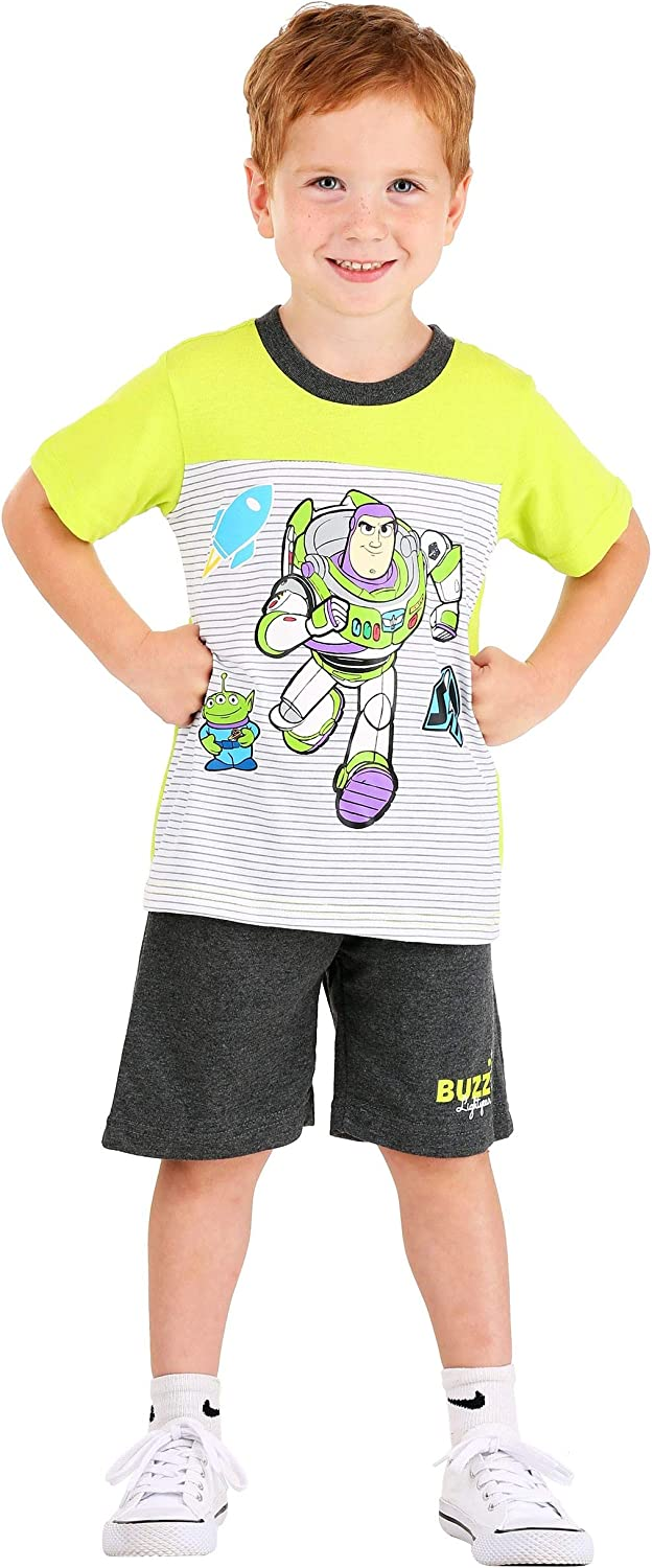 Toy Story 4 Little Boys Two-Piece Top & Short Set