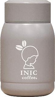 シービージャパン 水筒 グレー 190ml 直飲み ステンレス ボトル 真空 断熱 INIC×カフア コーヒー ボトル QAHWA
