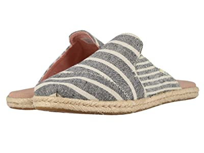 TOMS Nova (Black Cabana Stripes) Women