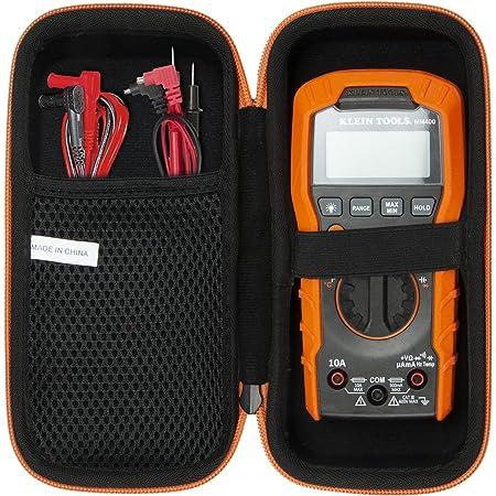 khanka Hard Storage Case for Klein Tools Digital Multimeter, 600V MM400 / MM300