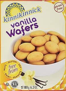 Kinnikinnick Vanilla Wafer Cookies 6.3 Ounces (Pack of 3)