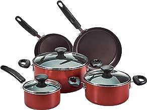 Prestige 12 Pieces Cookware Set 24 cm, PR20486, Red