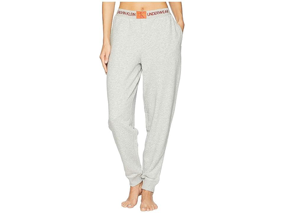 Calvin Klein Underwear Monogram Lounge Joggers (Grey Heather) Women