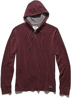 Mauldin Henley Hoodie - Men's Casual Long Sleeve – Athletic Fit Pullover Hoodie