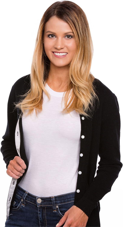 Urban Boundaries Women's 100% Cashmere Cardigan Sweater