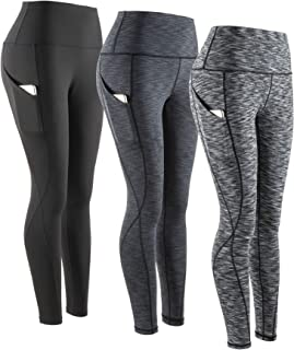 Yoga Pants, High Waist Tummy Control Workout Women Yoga Leggings with Pockets