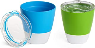 Munchkin Splash Cups with Trainer Lids, 18+ Months, 207 ml, Blue & Green