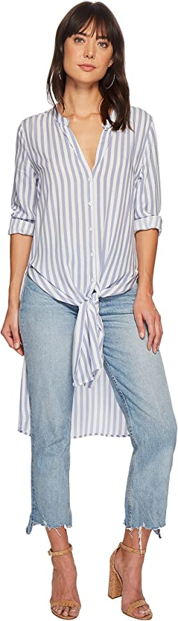 Bishop + Young - Stripe Front Tie Tunic