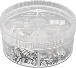 Knipex 97 99 910 Assortment Box With Non-Insulated End Sleeves (Ferrules)