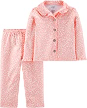 Simple Joys by Carter's Baby and Toddler Girls' 2-Piece Coat Style Pajama Set