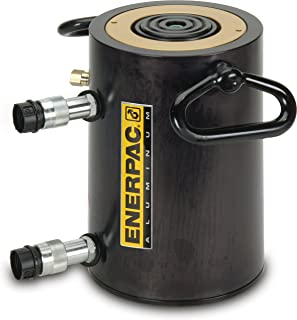 Enerpac RAR-1004 Double-Acting Aluminum Cylinder with 100-Ton Capacity, Double Port, 3.94