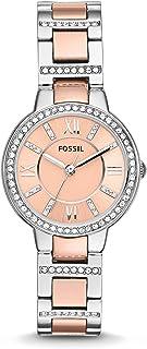 Fossil Women's Virginia Quartz Stainless Steel Dress Watch