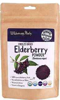Wilderness Poets, Elderberry Powder - Freeze Dried, Organic (3.5 oz)