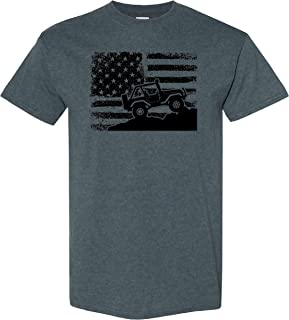 American Off-Road on a Dark Heather T Shirt