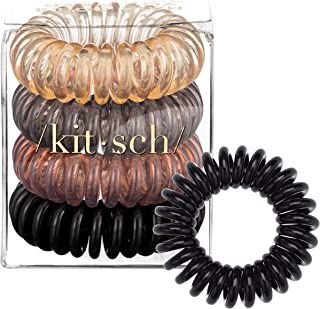 Coil Hair Ties For Women