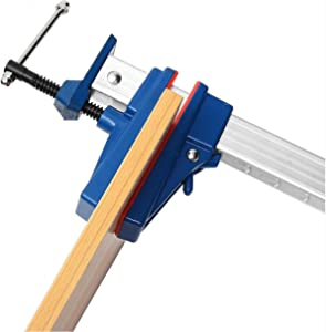 Clamping Tool & Bench Vise, 36 Inch Aluminum F-Clamp Bar Heavy Duty Holder Grip Release Parallel Adjustable Woodworking Tool COD, 36 inch