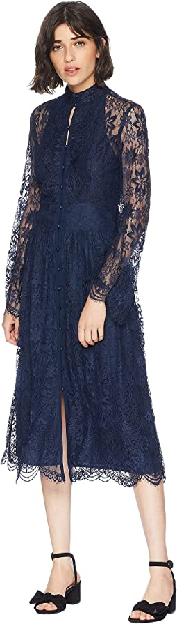 Kendall Lace Midi Dress
