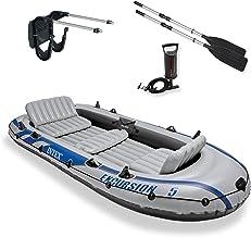 تورهای تور بادی قایق و ماهیگیری با قایق + موتور سوار Intex Excursion 5