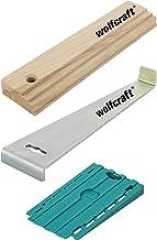 Wolfcraft 6975000 I slaapplaats voor laminaat- en designvloer leggen I bestaande uit trekijzer, slaghout en 30 universele ...