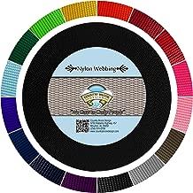 Country Brook Design - Black 1 1/2 Inch Heavy Nylon Webbing (10 Yards)