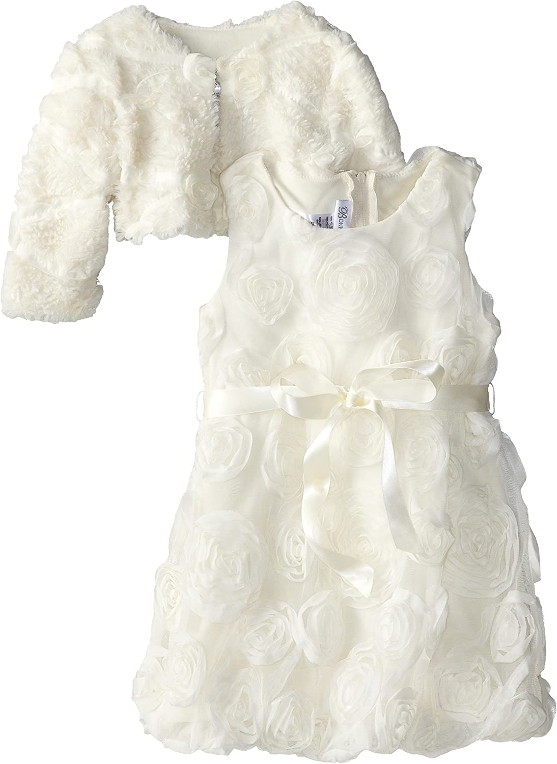 Bonnie Jean Little Girls' Bonaz Dress High quality new Bubble with Free shipping Jacket