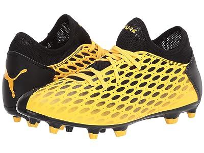 PUMA Future 5.4 FG/AG (Ultra Yellow/Puma Black) Men