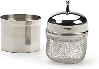 RSVP Endurance Stainless Steel Floating Spice Ball Infuser, 1/2-Cup capacity
