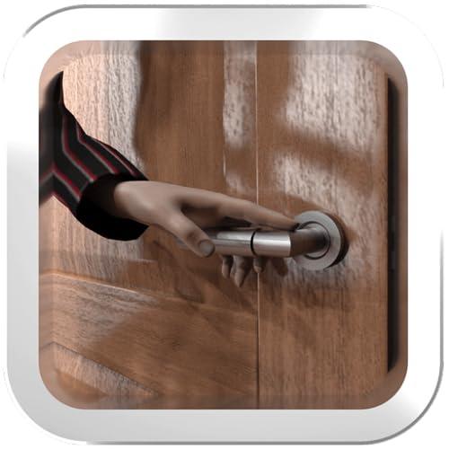é hora de escapar (a 'aventura através dos cômodos de uma casa misteriosa, destrava as portas, resolver quebra-cabeças e encontrar objetos escondidos)