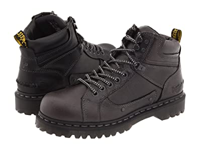 Dr. Martens Work Diego 7 Tie Lace To Toe Boot (Black Harvest) Men
