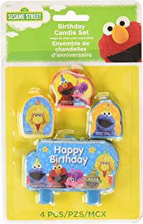 Sesame Street 'Stars' Mini Candle Set (4pc)