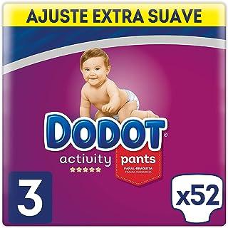 196 pa/ñales DODOT Sensitive talla 1 protection plus 2-5 kgs