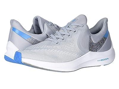 Nike Air Zoom Winflo 6 (Wolf Grey/Multicolor/White/Blue Hero) Men