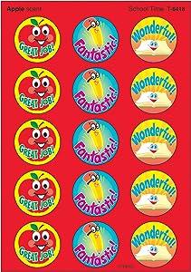 TREND ENTERPRISES, INC. School Time/Apple Stinky Stickers, 60 ct.