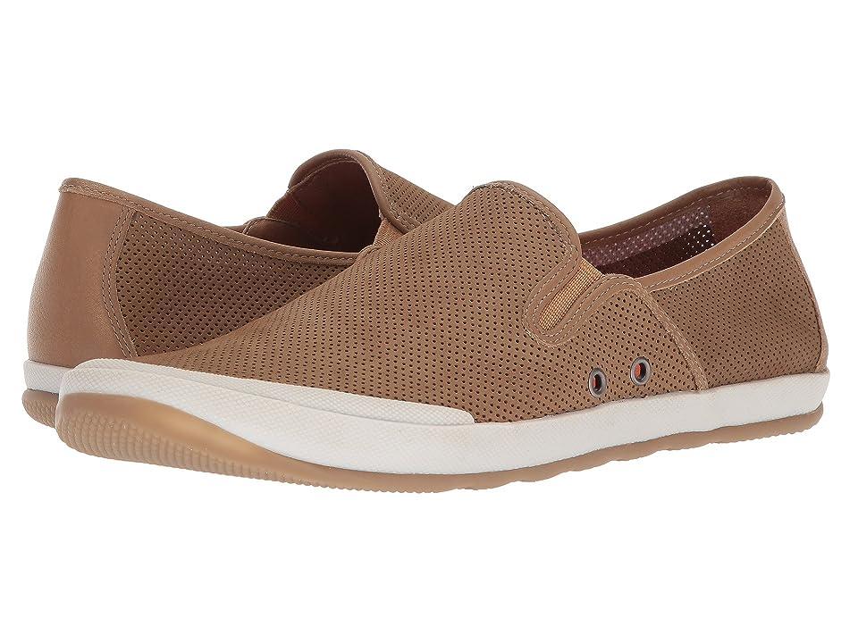 Johnston & Murphy Mullen Slip-On Sneaker (Sand Perfed Nubuck) Men