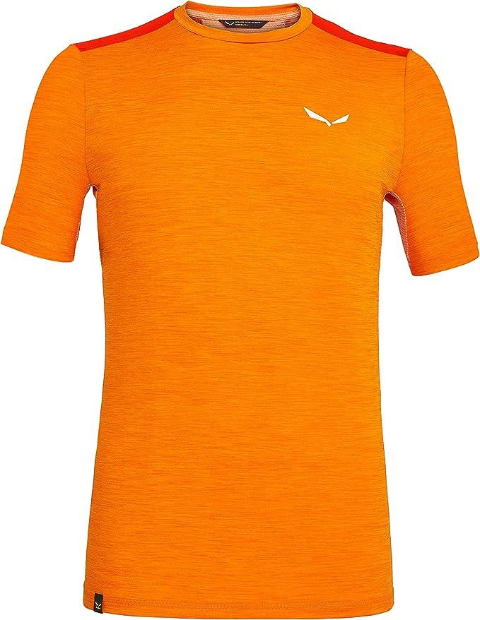 Salewa Herren Puez Hybrid 2 Dry M S//S Tee Hemden /& T-shirts