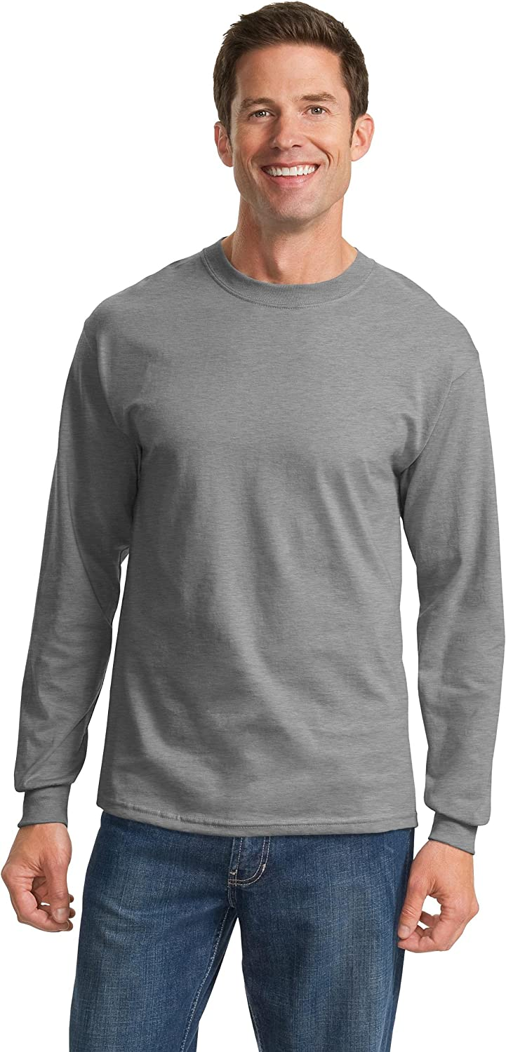 Port & Company - Tall Long Sleeve Essential T-Shirt>2XLT Athletic Heather