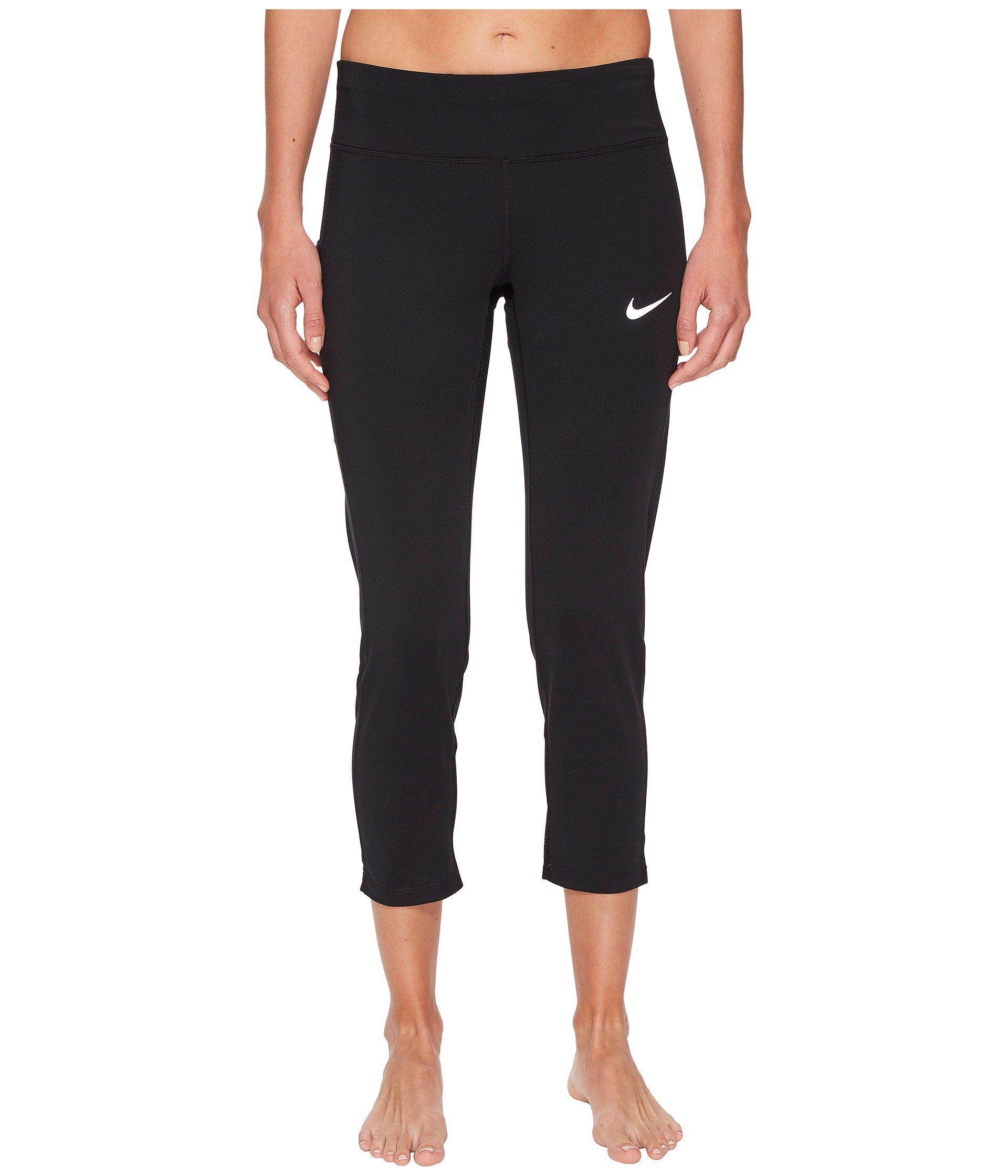 Running Nike Black Racer Crop black qxF64wx