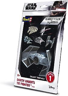 Revell RV01102 Star Wars Darth Vader Plastic Model kit, Various, 1:121