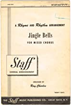 JINGLE BELLS For Mixed Chorus (SATB) with Piano accompaniment - 2 copies/1 price