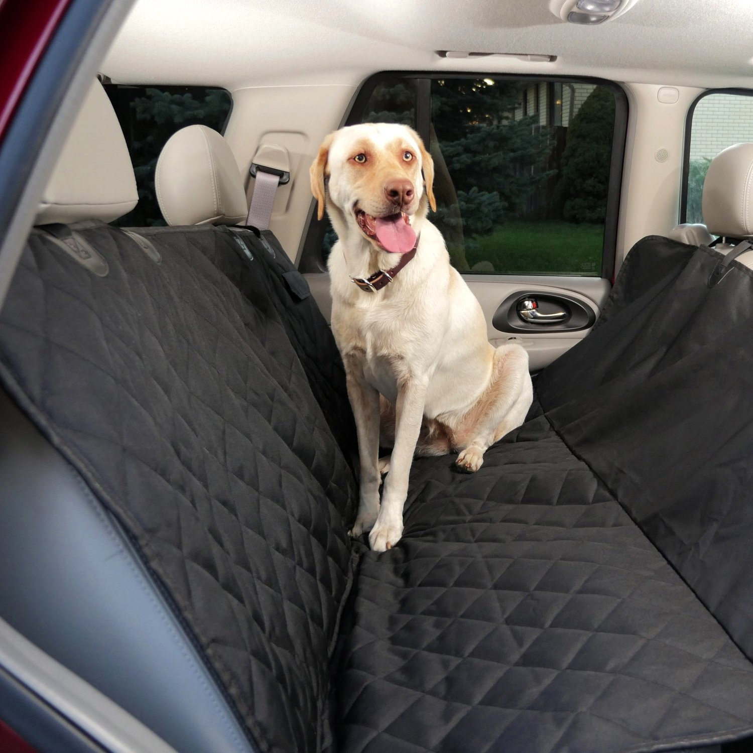 FRONT REAR WATERPROOF CAR SEAT COVER DOG PET PROTECTOR SUBARU IMPREZA