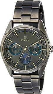 Titan Analog Gunmetal Dial Men's Watch-NL90084QM01 / NL90084QM01