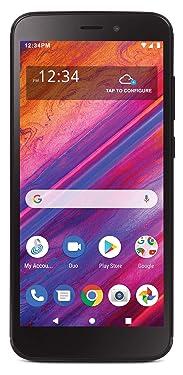 Net10 Blu View 1 4G LTE Prepaid Smartphone (Locked) - Black - 16GB - Sim Card Included - CDMA