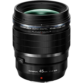 Olympus M.Zuiko Digital ED 45mm F1.2 PRO Lens, for Micro Four Thirds Cameras